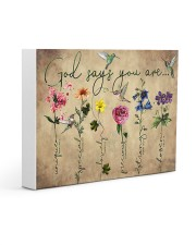 God says you are 14x11 Gallery Wrapped Canvas Prints thumbnail