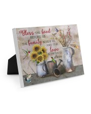 Bless The Food Before Us  10x8 Easel-Back Gallery Wrapped Canvas thumbnail