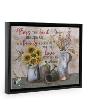 Bless The Food Before Us  14x11 Black Floating Framed Canvas Prints thumbnail