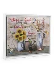 Bless The Food Before Us  14x11 White Floating Framed Canvas Prints thumbnail