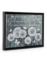 God bless you 14x11 Black Floating Framed Canvas Prints thumbnail