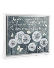 God bless you 14x11 White Floating Framed Canvas Prints thumbnail