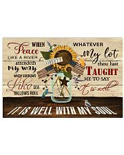 IT Í WELL WITH MY SOUL 17x11 Poster front