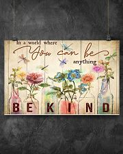 In a world where you can be anything 17x11 Poster poster-landscape-17x11-lifestyle-12