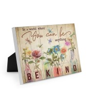 In a world where you can be anything 10x8 Easel-Back Gallery Wrapped Canvas thumbnail