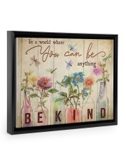 In a world where you can be anything 14x11 Black Floating Framed Canvas Prints thumbnail
