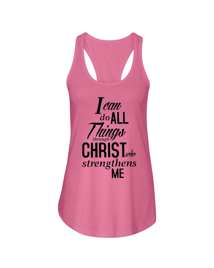 I can do all things Shirt Ladies Flowy Tank