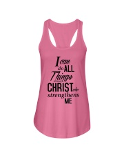 I can do all things Shirt Ladies Flowy Tank front