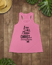 I can do all things Shirt Ladies Flowy Tank lifestyle-bellaflowy-tank-front-6