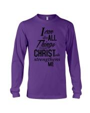 I can do all things Shirt Long Sleeve Tee thumbnail