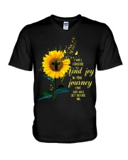 I Will Choose To Find Joy In The Journey That God  V-Neck T-Shirt thumbnail