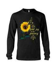 I Will Choose To Find Joy In The Journey That God  Long Sleeve Tee thumbnail