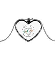 MY MIND STILL TALKS TO YOU  Metallic Heart Necklace thumbnail