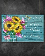 Faith - Love - Hope - Family 17x11 Poster poster-landscape-17x11-lifestyle-12