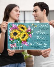 Faith - Love - Hope - Family 17x11 Poster poster-landscape-17x11-lifestyle-20