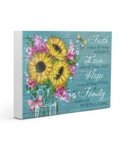 Faith - Love - Hope - Family 14x11 Gallery Wrapped Canvas Prints thumbnail