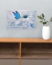 Be Still and Know That I Am God 17x11 Poster poster-landscape-17x11-lifestyle-24