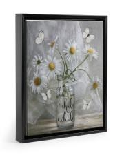 INHALE EXHALE 11x14 Black Floating Framed Canvas Prints thumbnail
