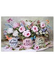 Be Happy Be Kind Be You 17x11 Poster front