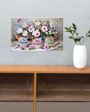 Be Happy Be Kind Be You 17x11 Poster poster-landscape-17x11-lifestyle-24