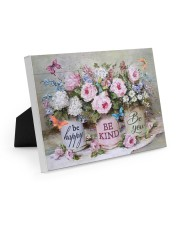 Be Happy Be Kind Be You 10x8 Easel-Back Gallery Wrapped Canvas thumbnail