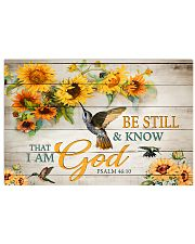 Be still and know that I am God 17x11 Poster front