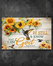 Be still and know that I am God 17x11 Poster poster-landscape-17x11-lifestyle-12