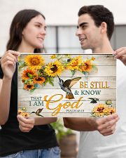 Be still and know that I am God 17x11 Poster poster-landscape-17x11-lifestyle-20