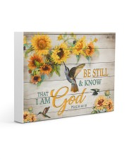 Be still and know that I am God Gallery Wrapped Canvas Prints tile