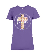 He Is Risen Shirt Premium Fit Ladies Tee thumbnail