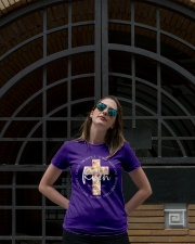 He Is Risen Shirt Ladies T-Shirt lifestyle-women-crewneck-front-1