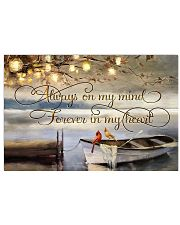 Always on my mind 17x11 Poster front