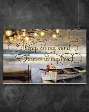 Always on my mind 17x11 Poster poster-landscape-17x11-lifestyle-12