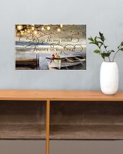 Always on my mind 17x11 Poster poster-landscape-17x11-lifestyle-24