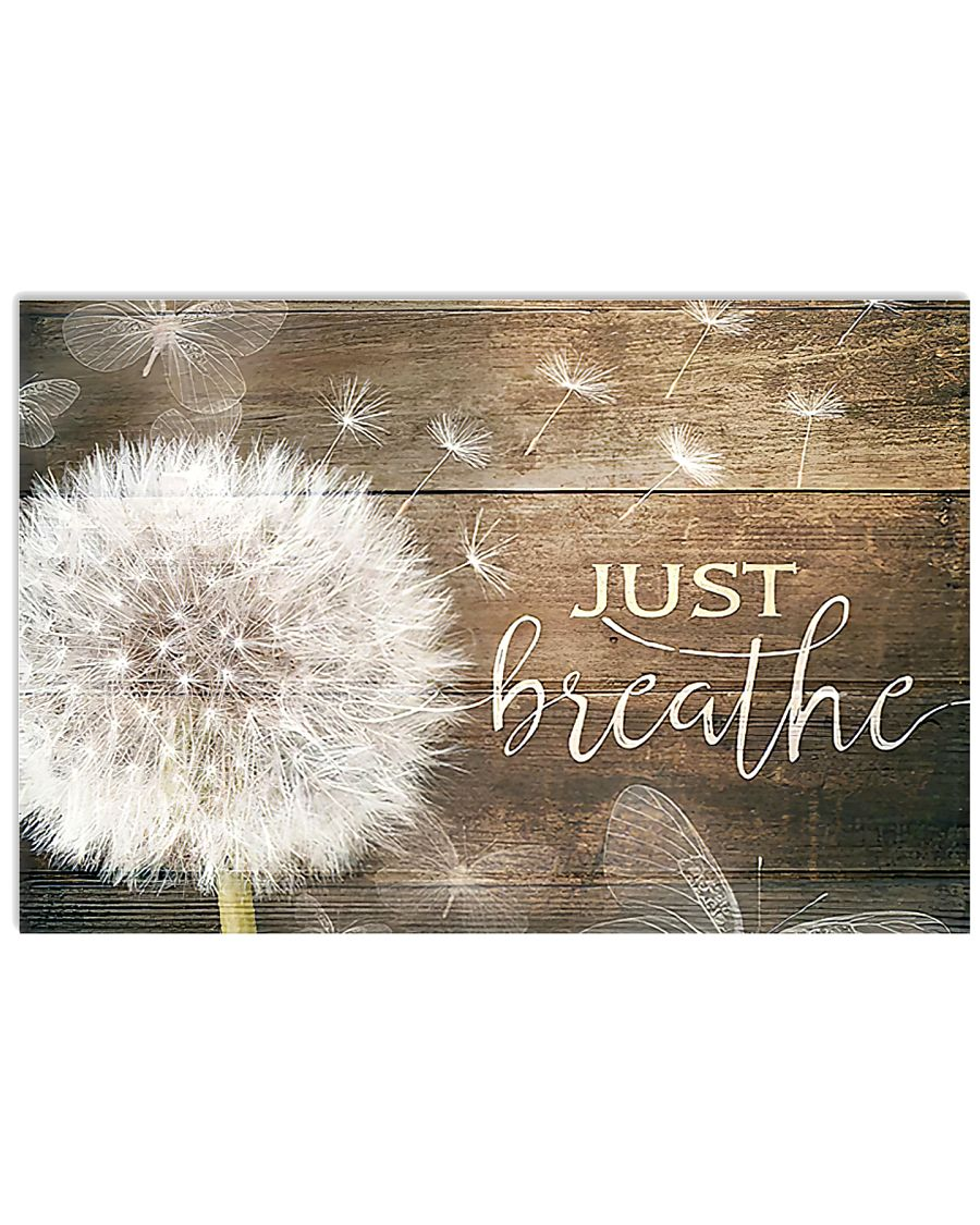 JUST BREATHE 17x11 Poster