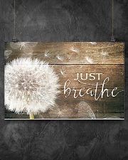 JUST BREATHE 17x11 Poster poster-landscape-17x11-lifestyle-12
