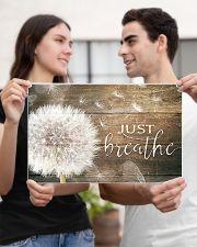 JUST BREATHE 17x11 Poster poster-landscape-17x11-lifestyle-20