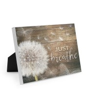 JUST BREATHE Easel-Back Gallery Wrapped Canvas tile