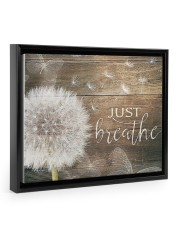 JUST BREATHE 14x11 Black Floating Framed Canvas Prints thumbnail