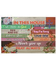 Pray Always 17x11 Poster front