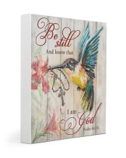 BE STILL AND KNOW THAT I AM GOD  11x14 Gallery Wrapped Canvas Prints thumbnail