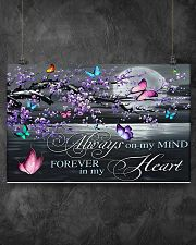 Always on my Mind - Forever in my Heart 17x11 Poster poster-landscape-17x11-lifestyle-12