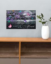 Always on my Mind - Forever in my Heart 17x11 Poster poster-landscape-17x11-lifestyle-24