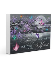 Always on my Mind - Forever in my Heart 14x11 Gallery Wrapped Canvas Prints thumbnail