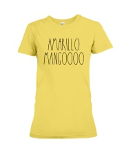 AMARILLO MANGOOOO Premium Fit Ladies Tee front