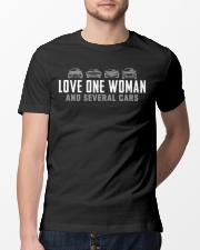 One Woman Several Cars Classic T-Shirt lifestyle-mens-crewneck-front-13