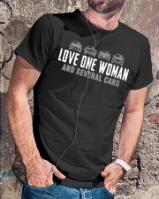 One Woman Several Cars Classic T-Shirt lifestyle-mens-crewneck-front-4