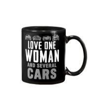 One Woman Several Cars Mug thumbnail