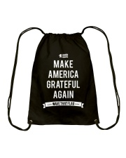 Make America Grateful Again Drawstring Bag thumbnail