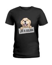 life is golden Ladies T-Shirt thumbnail